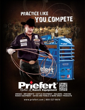Priefert Rodeo Ad's 2012